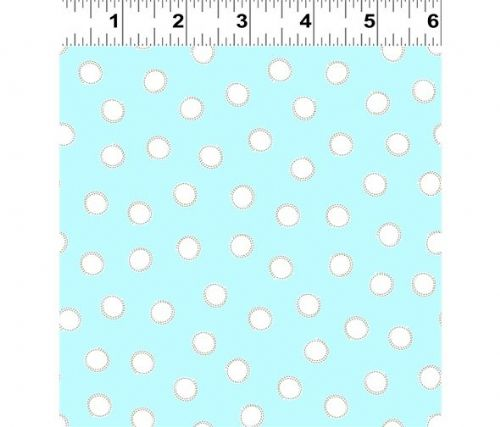 Guess How Much I Love You Collection Aqua Polka Dot